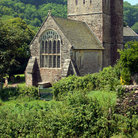 Picture - An old churhc in Branscombe.