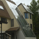 Picture - Solar heated house in Brattleboro, Vermont.