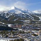 Picture - View over Breckenridge town and ski hill.