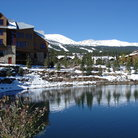 Picture - Water and shoreline in Breckenridge.
