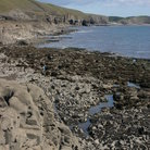 Picture - The coastline near Ogmore.