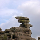 Picture - Balancing rocks at Brimham Rocks.