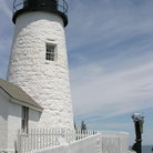 Picture - Pemaquid Point Lighthouse.