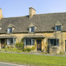 Picture - Cottages in Broadway, in the Cotswolds.
