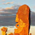 Picture - Desert sculptures at Broken Hill.