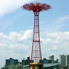Picture - Parachute ride at Coney Island, Brooklyn.
