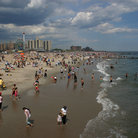 Picture - Beach at Coney Island, Brooklyn.