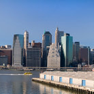 Picture - View to Manhattan from Brooklyn Heights.