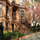 Picture - Brownstone apartments in the Park Slope Neighborhood.