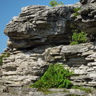 Picture - A cliff of the Bruce Peninsula.