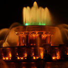 Picture - Buckingham Fountain at night in Chicago.