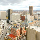 Picture - View over Buffalo seen from the observation deck of City Hall.