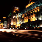 Picture - The Bund in Shanghai.