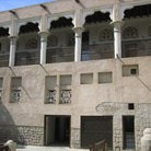 Picture - Dubai Museum shows the architecture of the traditional two-storied houses.
