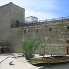 Picture - Inside courtyard of the Dubai museum.