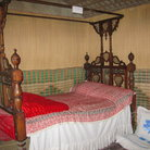 Picture - A display of the bedroom in traditional house at the Dubai Museum.