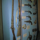 Picture - Small and big guns used in warfare in olden Dubai, at the Dubai Museum.