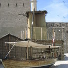 Picture - Replica of the famous 'abra' - ferry boat used to transport passengers across the creek in Dubai.
