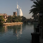 Picture - Distant view of Burj Al Arab and Madinat Jumeirah in Dubai.