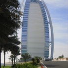 Picture - The Dubai icon, the Burj Al-Arab, built in the middle of the sea in the shape of a sail.
