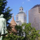 Picture - View of Hartford from Bushnell Park.