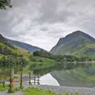 Picture - Eastern end of Buttermere Lake.