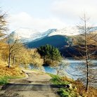Picture - Road beside Ennerdale Water in the Lake District of Cumbria.