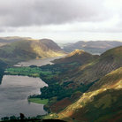 Picture - View of Buttermere, Crummock Water, and the surrounding Fells.