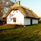 Picture - Thatched roof building in Buzsak.