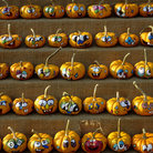 Picture - Painted pumpkins in Byward Market in Ottawa, Canada.