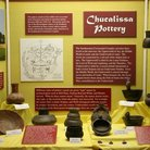 Picture - Chucalissa Pottery Exhibit at the C.H. Nash Museum at Chucalissa, Memphis.