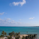 Picture - The view over Cable Beach, Nassau.