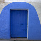 Picture - Blue door in Cadaques.