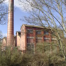 Picture - Cadbury Chocolate Factory in Bourneville near Birmingham.