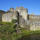 Picture - Cahir Castle on an island on the river Suir.