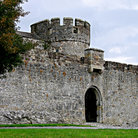 Picture - Courtyard of the Cahir Castle.