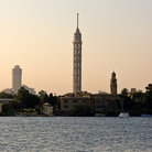 Picture - View of the Cairo Tower.