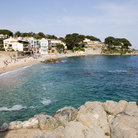 Picture - The beach at Calella.
