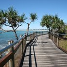 Picture - Boardwalk at Caloundra.
