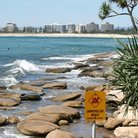 Picture - Beach at Caloundra.