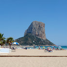 Picture - The beach at Calpe.