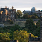 Picture - Morning over Calton Hill in Edinburgh.
