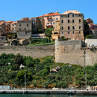 Picture - View of Calvi seen from the water.