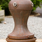 Picture - Capstan on display in Camden, Maine.