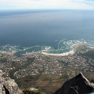Picture - View over Camp's Bay from Table Mountain.