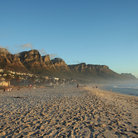 Picture - The beach at Camp's Bay, Cape Town.
