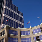 Picture - An exterior view of Canada Place in Edmonton.