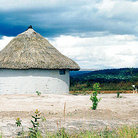 Picture - Indian home in La Gran Sabana in Parque Nacional Canaima (Canaima National Park).