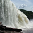 Picture - A waterfall in Canaima National Park.