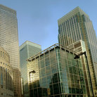 Picture - Buildings on Canary Wharf.